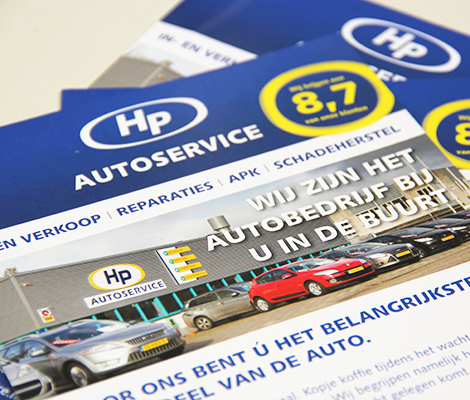 Flyer HP Autoservice